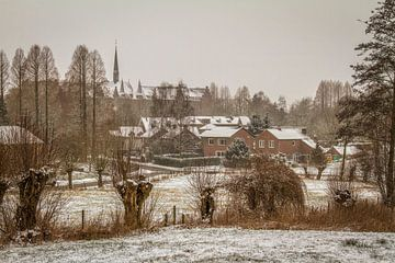 Simpelveld in de sneeuw sur