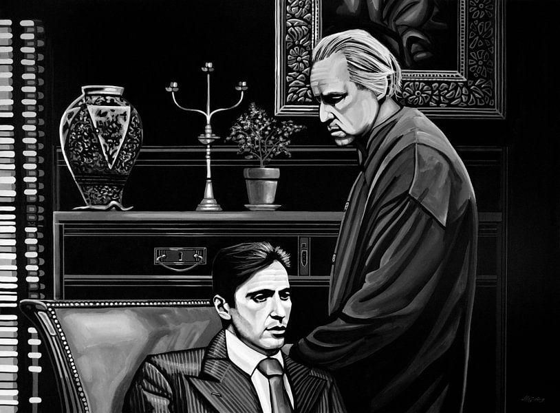 The Godfather schilderij von Paul Meijering