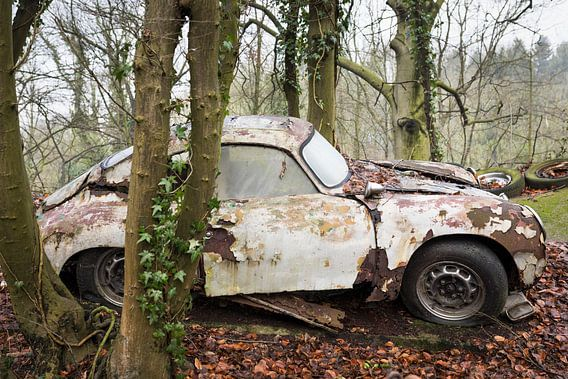 Klassischer Porsche Urbex wagen