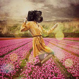 Gwendolyn und die Tulpen