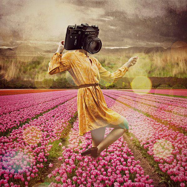 Gwendolyn und die Tulpen von Marja van den Hurk