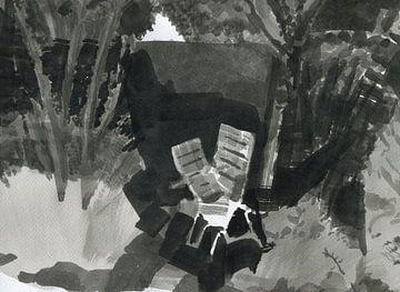 twee stoelen 5 van Maartje Kaper