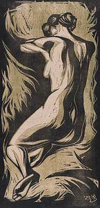 Nackte Frau, Meijer Bleekrode, 1923