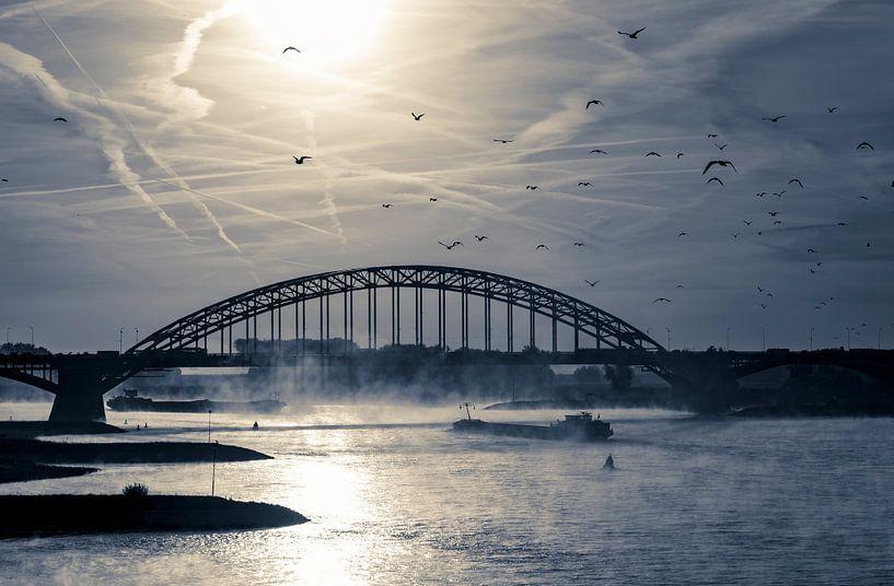 Waal bij Nijmegen van Henk Kersten