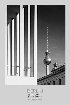 In beeld: BERLIN TV Toren & Museumeiland van Melanie Viola