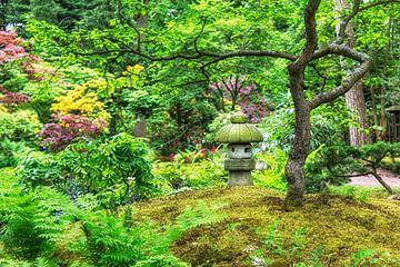 Japanse Tuin (4) van Marly De Kok