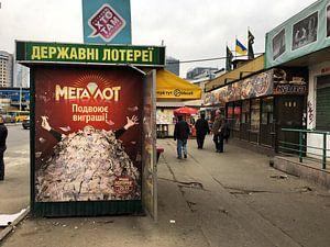 Kioskjes in Kiev van