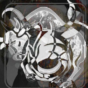 Sterrenbeeld, Stier van Kirsti's Kunst