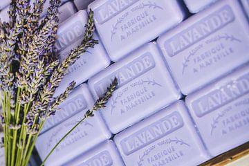 Lavendelzeep van de Provence van Uwe Merkel