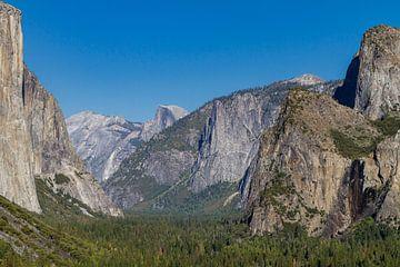 Tunnel View in Yosemite National Park van Easycopters