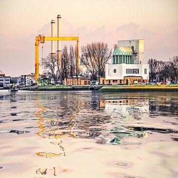 Waterspiegeling Charloisse Hoofd van Frans Blok