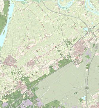 Kaart vanOldebroek