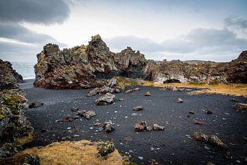 Woeste kustlijn in IJsland von Marcel Alsemgeest