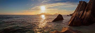 Seychelles Panorama van Silvio Schoisswohl