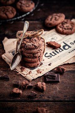 Biscuits aux pépites de chocolat sur Iwan Bronkhorst