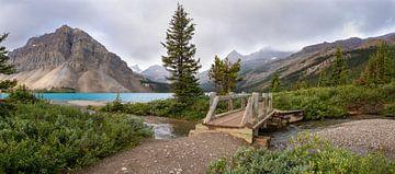 Bow Lake, Icefield Parkway, Banff National Park, Alberta, Kanada von Alexander Ludwig