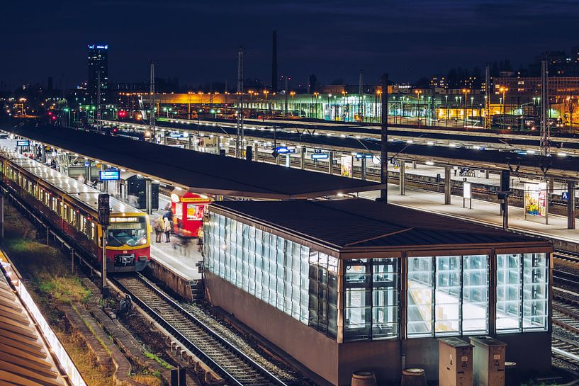 Berlin – Lichtenberg Station van Alexander Voss