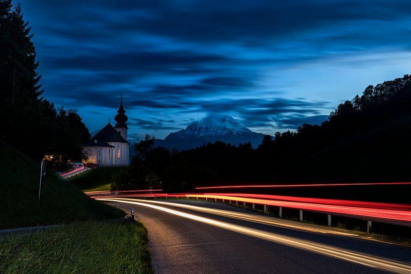 Kirche Maria Gern bei Berchtesgaden van Tilo Grellmann