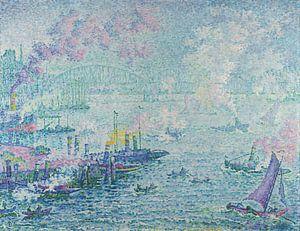 Le port de Rotterdam