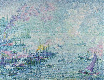 Der Hafen von Rotterdam - Paul Signac
