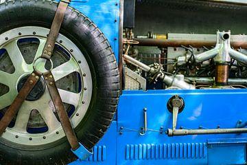 Bugatti Type 43 klassieke sportwagen uit de jaren 20