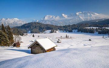 Winteridylle in Oberbayern von Achim Thomae