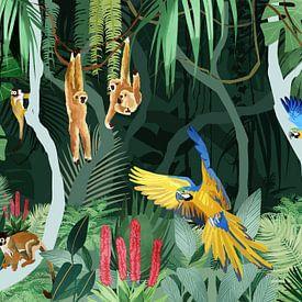 Drukte in de Jungle van Goed Blauw