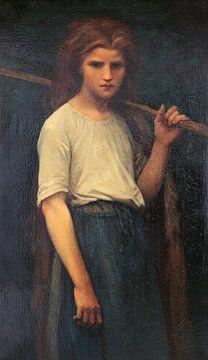 Die Hirtin, Jules Breton
