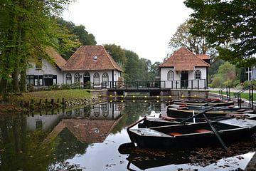 Waterradmolen De Olliemölle, Winterswijk van Bernard van Zwol