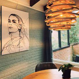 Kundenfoto: Frida Kahlo von Kim Rijntjes