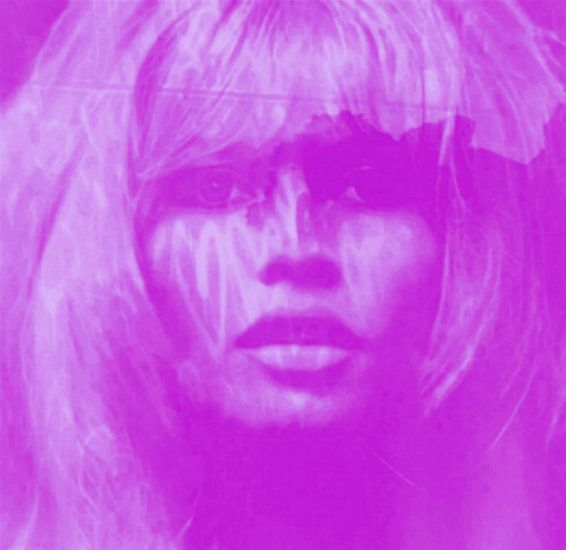 Brigitte Bardot LILA - Love Pop Art - 24 Colours - Game - IPAD