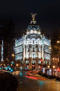 Madrid, Edificio Metropolis van Jan Sluijter