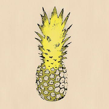 Pineapple N.3 van Oliver P_Art