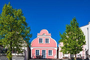 Buildings in Warnemuende, Germany van