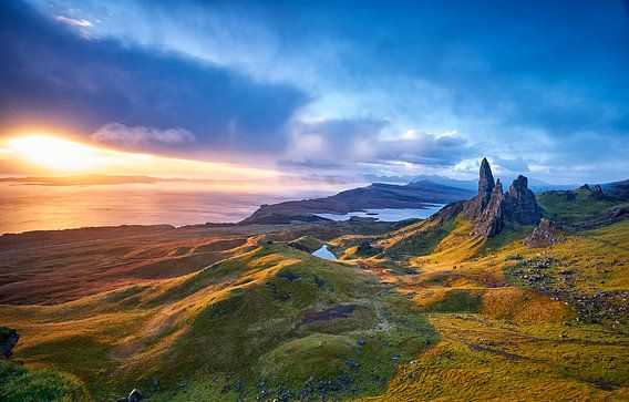 Old man of Storr in Schotland
