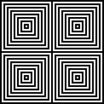 Genesteld in het midden 02x02 N=8 W van Gerhard Haberern