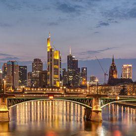 Frankfurt Skyline von Michael Valjak