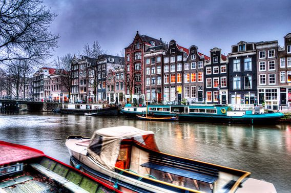 Amsterdam canal van Wouter Sikkema