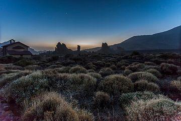 Sunset at Teide National park Tenerife von Wil de Boer