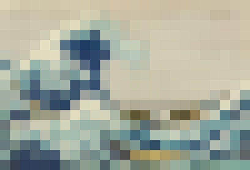 Pixel Art: De Grote Golf van Olaf Kramer