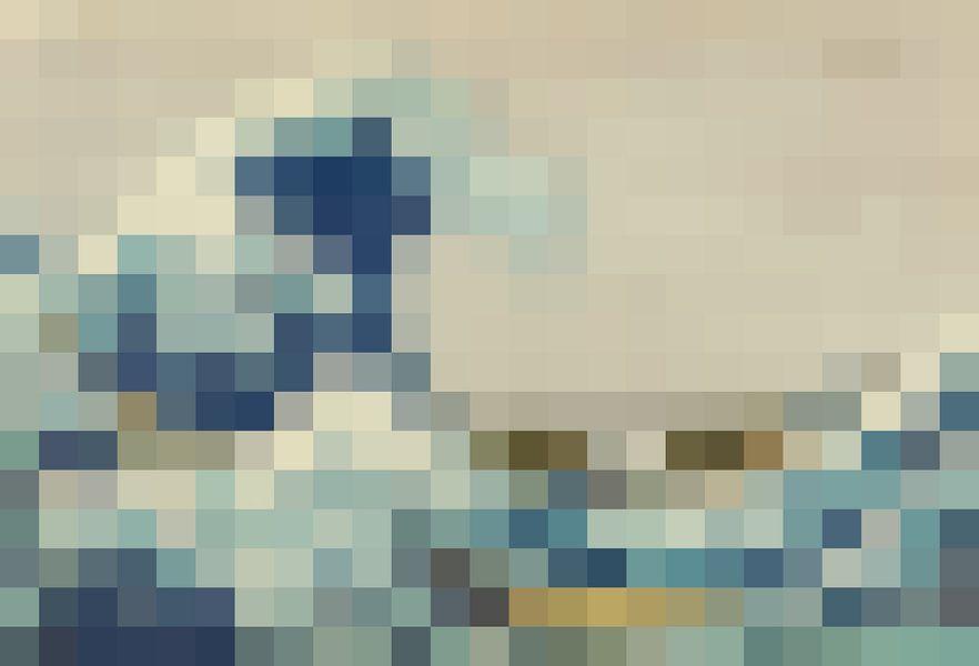 Pixel Art: De Grote Golf van J. C. Delanaye