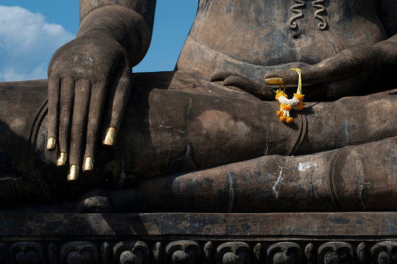 Hand van Buddha van Sebastiaan Hamming