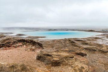 """""""Geysir"""" de geiser van IJsland von Marco Schep"""