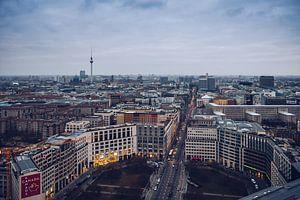 Berlin – Leipziger Platz Skyline van