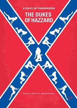 No108 My The Dukes of Hazzard minimal movie poster van Chungkong Art