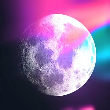 Moon Phase 1 N.3 von Olis-Art