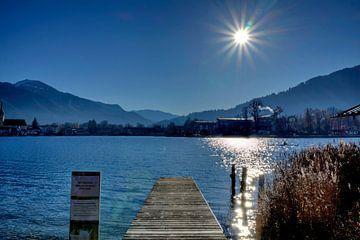 Seeufer mit Sonnenstern von Roith Fotografie