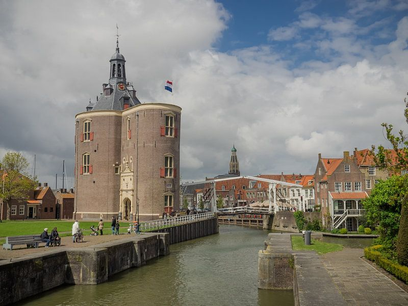 Die Drommedaris in Enkhuizen von Martijn Tilroe