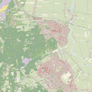 Kaart vanBaarn