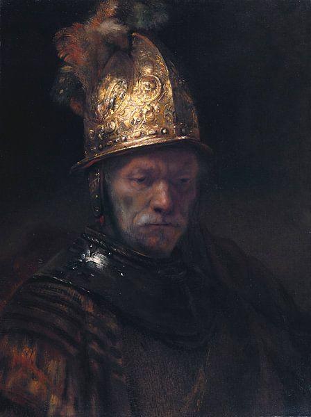 Der Mann mit dem Goldhelm, Rembrandt van Rijn von Rembrandt van Rijn